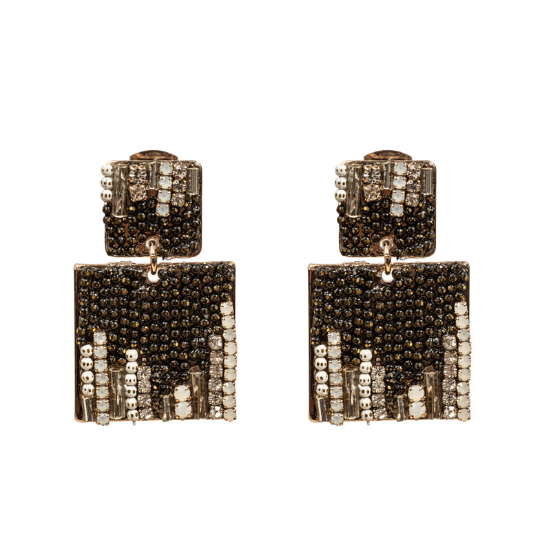 Crystal Swarovski Tile earrings