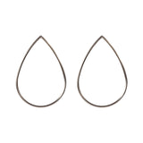 Metallic Water Drop earrings