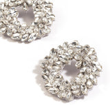 Deepa Gurnani Wreath Earrings