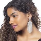Deepa Gurnani Fringe Earrings