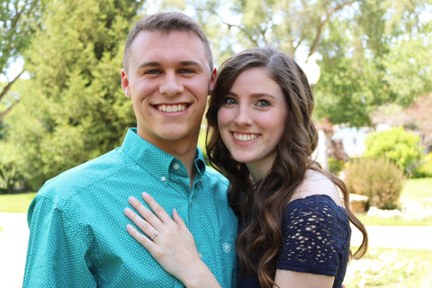 Olivia and Galvin proposal story