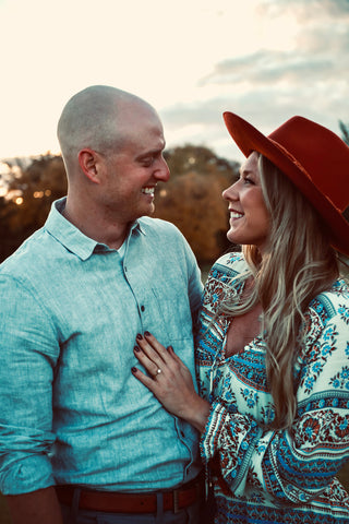 Brianne and Jordan proposal story