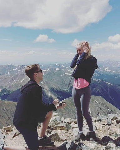 Carlee and Connor Proposal picture