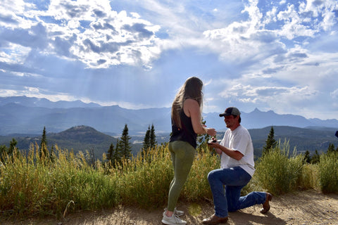 Lindsey and Spencer Proposal Story