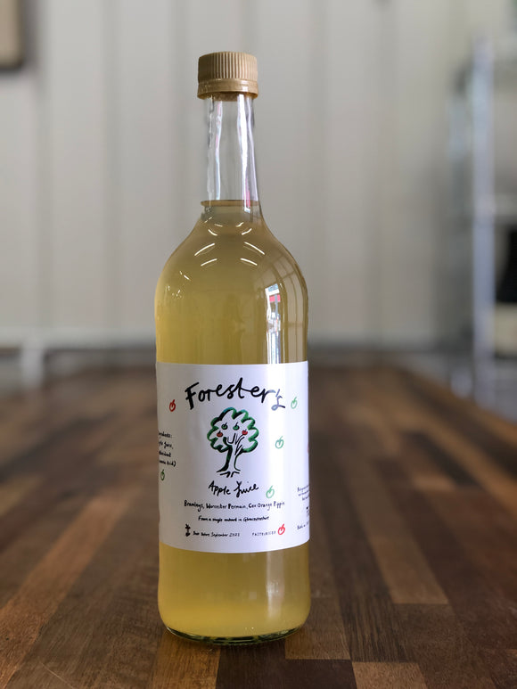 Forester's Apple Juice (homemade) 750ml