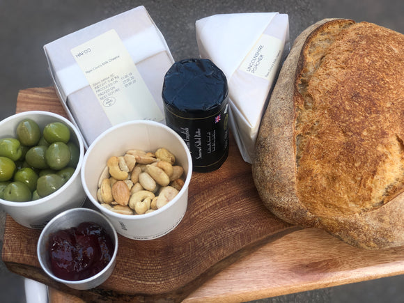 Neal's Yard Cheese & Sourdough Package