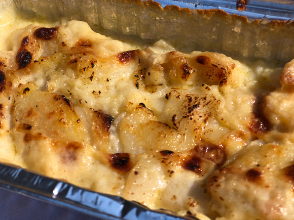 Potato Dauphinoise for two