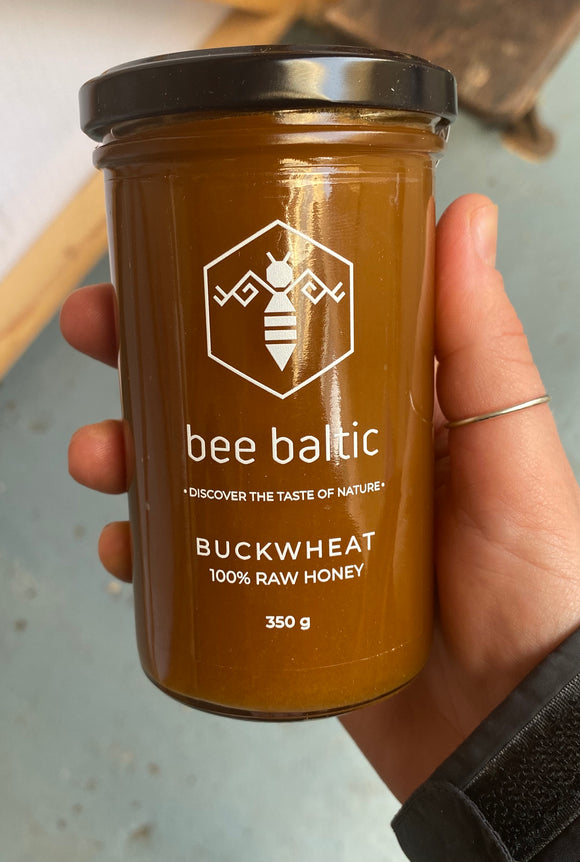 Bee Baltic 100% Raw Buckwheat Honey