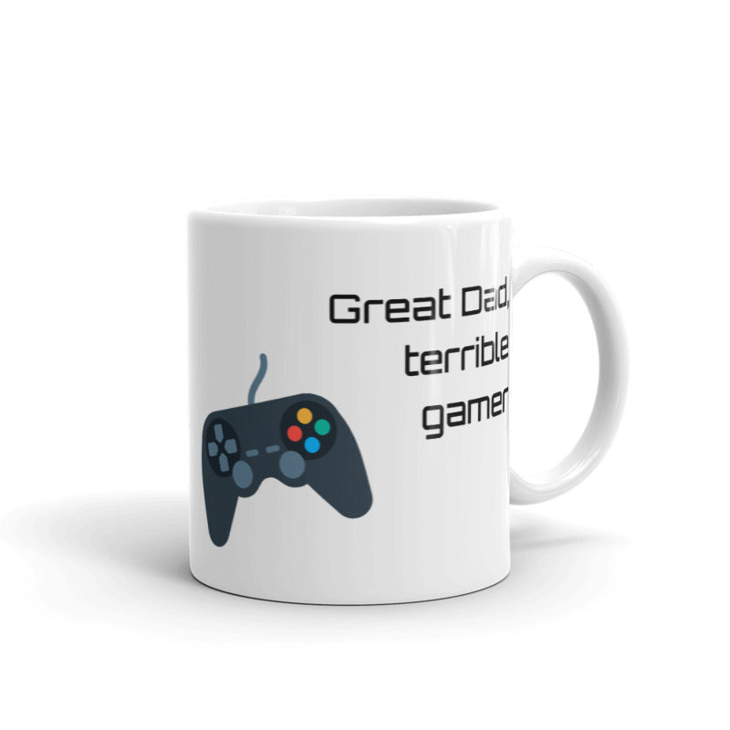 Great Dad, Gamer version - Ceramic Mug