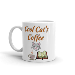 Cool Cat's Coffee - Ceramic Coffee Mug