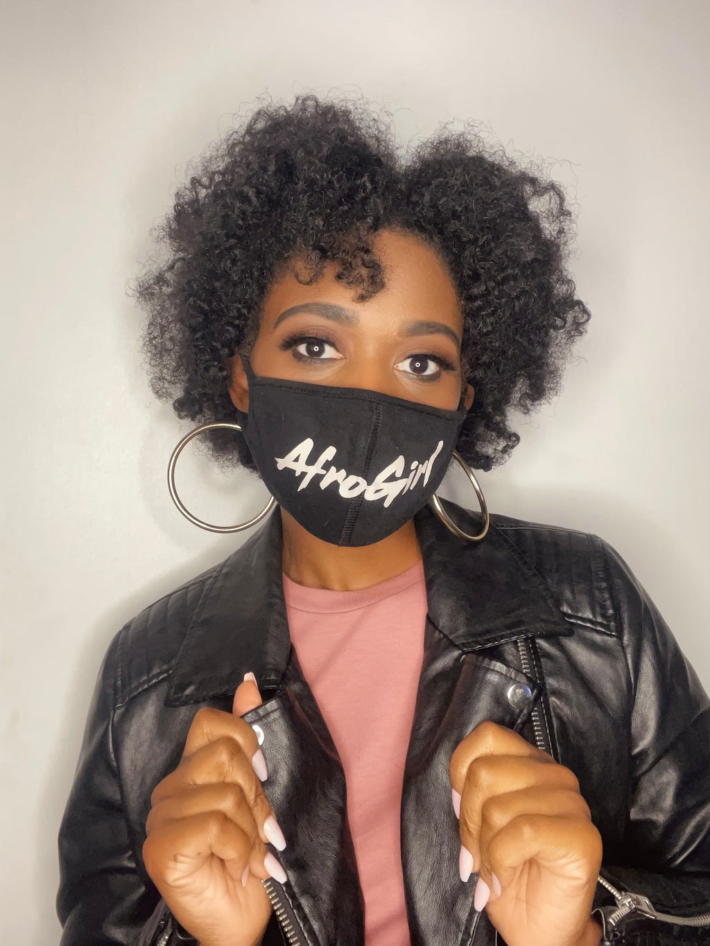 AfroGirl Face Mask