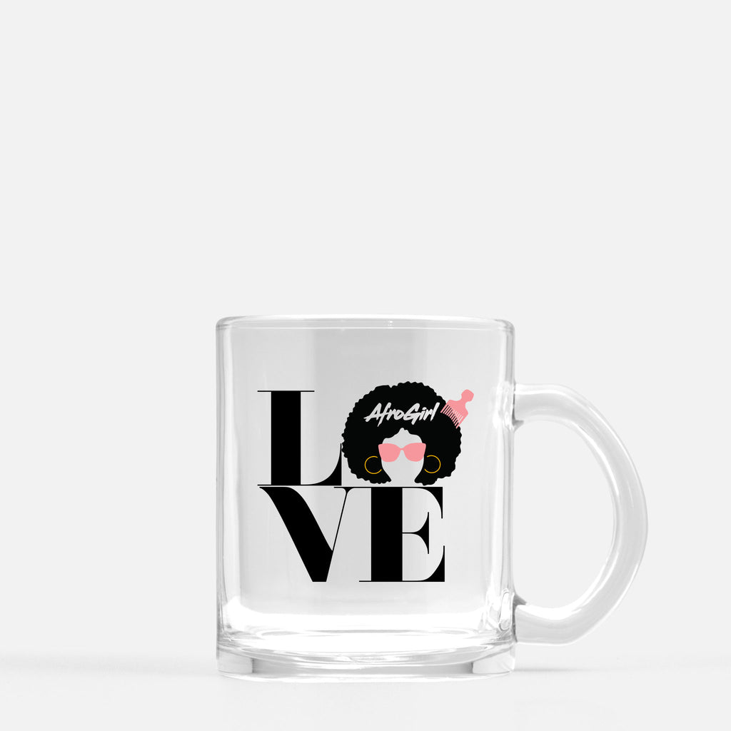 AfroLove Mug Glass