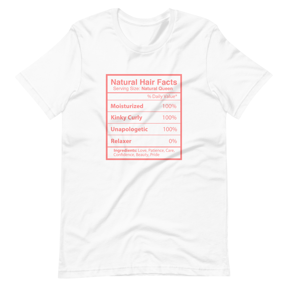 Natual Hair Facts Short-Sleeve Unisex T-Shirt