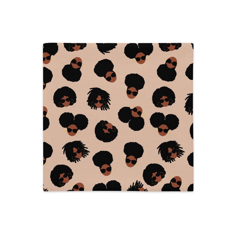 AfroGirls Premium Pillow Case