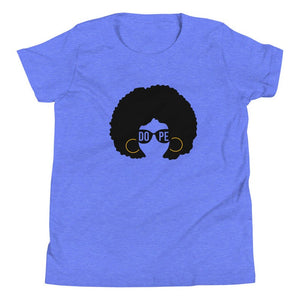 AfroGirl Personalized Youth Short Sleeve T-Shirt