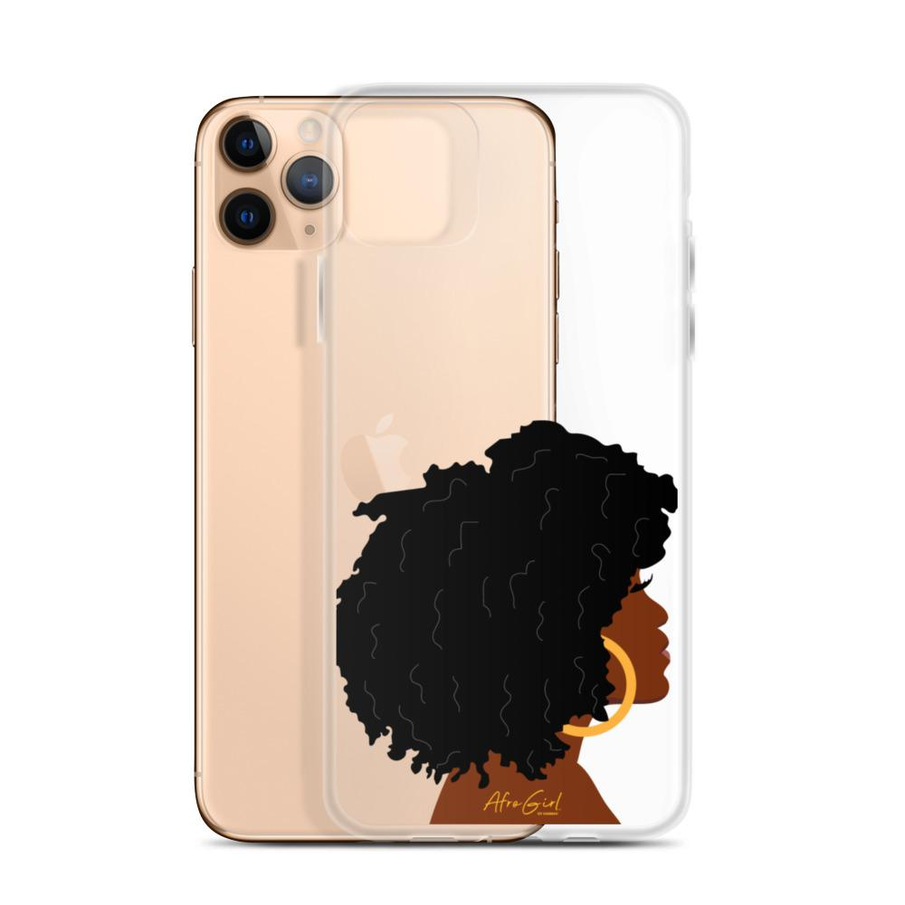 AfroGirl Side Profile iPhone Case