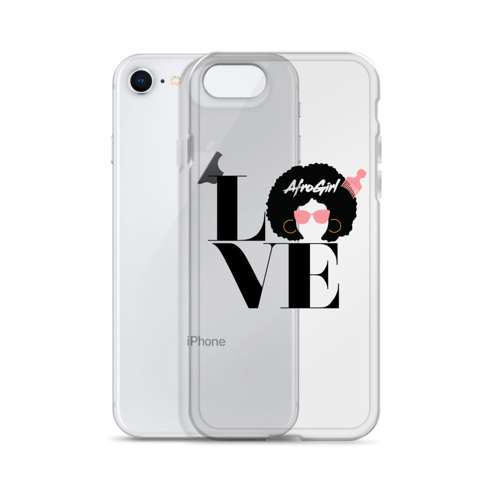 Love AfroGirl iPhone Case