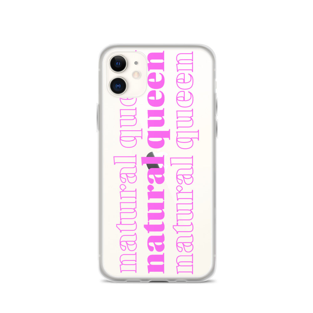 Natural Queen iPhone Case