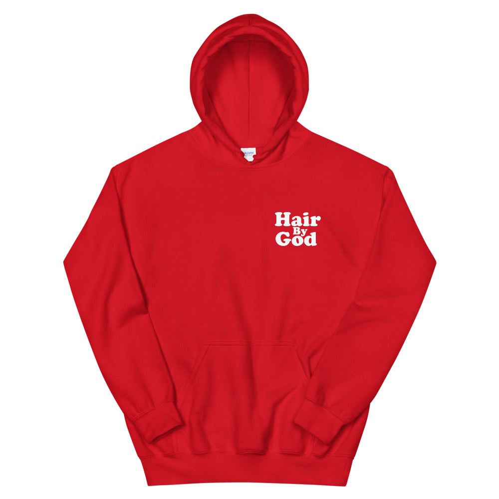Hair By God Unisex Hoodie