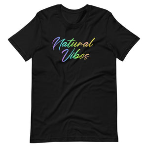 Natural Vibes Short-Sleeve Unisex T-Shirt