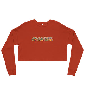 CROWNED Crop Sweatshirt