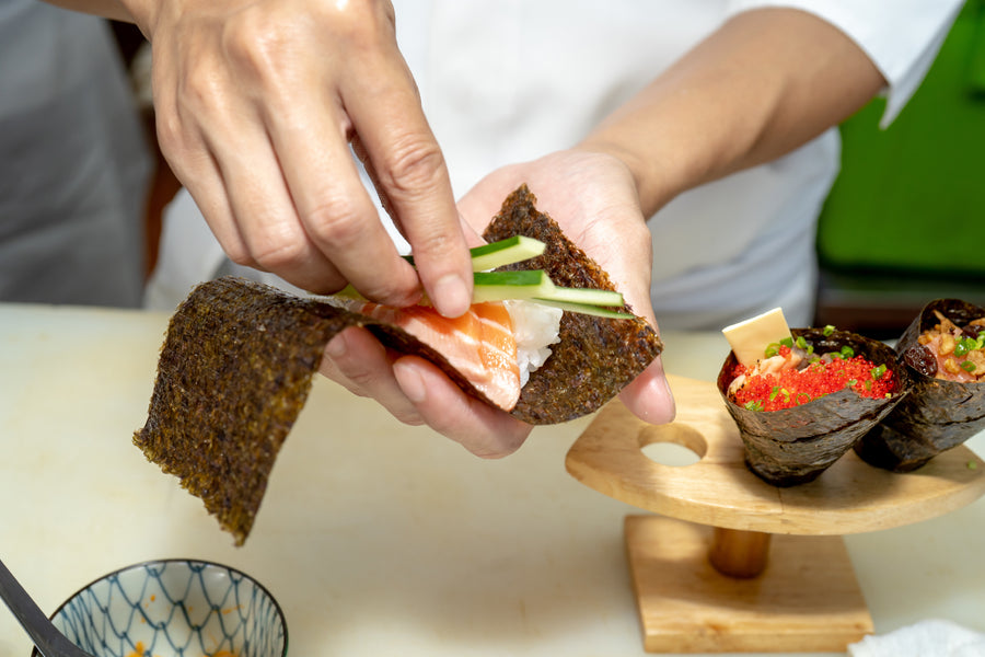 Temaki Hand Roll Party with David Ono | ABC Los Angeles