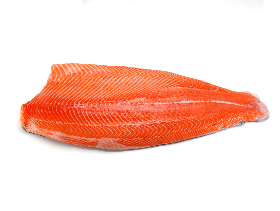 Frozen Salmon Trout Fillet Salted 2 LB