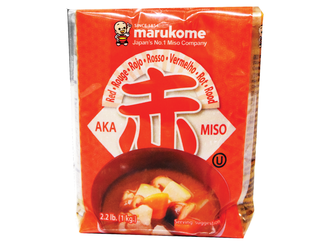 Marukome Red Miso Paste 2.2 LB