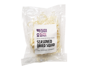 Frozen Seasoned & Dried White Shredded Squid 150G