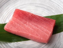 Load image into Gallery viewer, Bluefin Tuna Saku (CHUTORO) SUSHI QUALITY 0.5 LB