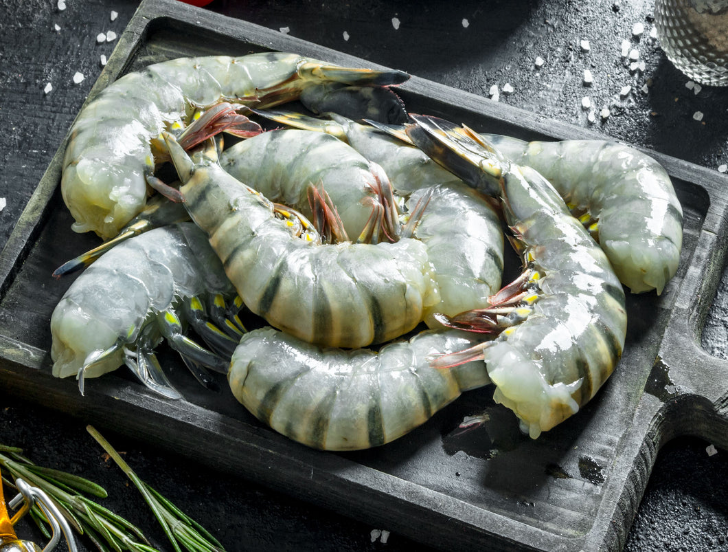 Frozen Shrimp 8/12 Black Tiger 4LB