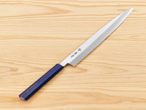 Sakai Takayuki (堺孝行) Knife INOX NANAIRO 210mm Blue Pearl - Pre Order