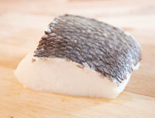 Load image into Gallery viewer, Frozen Chilean Sea Bass Portion Cut 1 lb