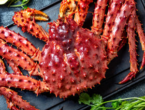 Live Red King Crab
