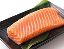 Load image into Gallery viewer, King Salmon Portion Cut SUSHI QUALITY 1 LB