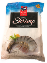 Load image into Gallery viewer, Frozen Shrimp 8/12 Black Tiger 4LB