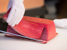 Load image into Gallery viewer, Bluefin Tuna Saku (OTORO) SUSHI QUALITY 0.5 LB