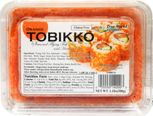 Load image into Gallery viewer, TOBIKKO GOLD ORANGE 500G/PK