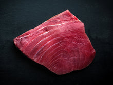 Load image into Gallery viewer, Fresh Bluefin Tuna Steak Cut SUSHI QUALITY 1 LB