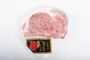 Japanese Wagyu Frozen Ribeye A5 Steak Cut/16OZ PK Japan (Limited Availability)