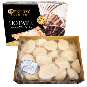 Frozen Hotate (Scallop) Medium Size SUSHI QUALITY 2.2 LB/PK