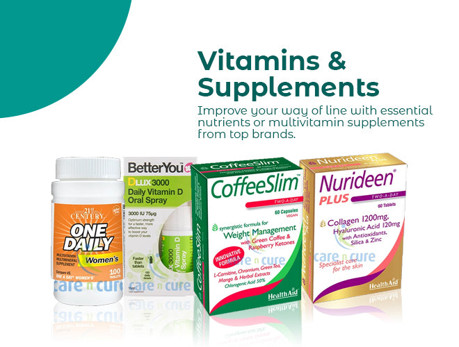 Vitamins & Supplements Promo