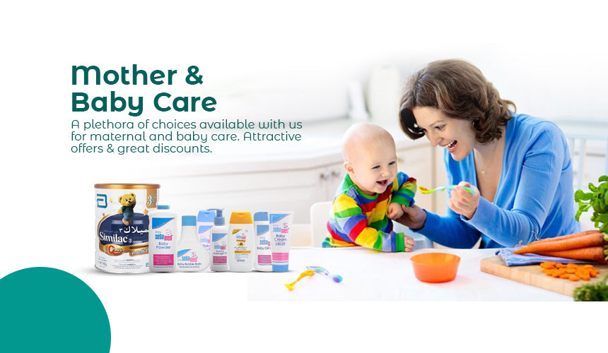 Mother & Baby Care Promo
