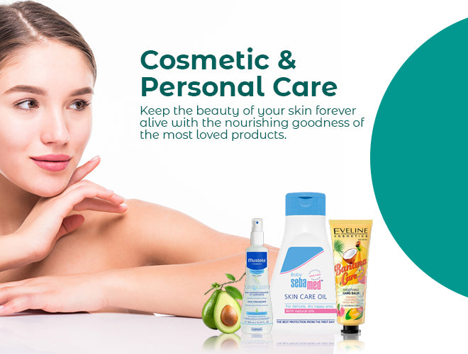 Cosmetics and Personal Care Promo