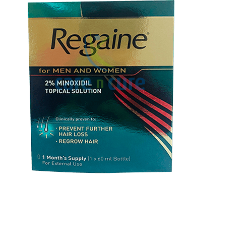 Regain 2% Topical Solution 60ml