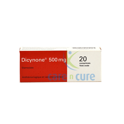 Dicynone 500mg Tablets 20's