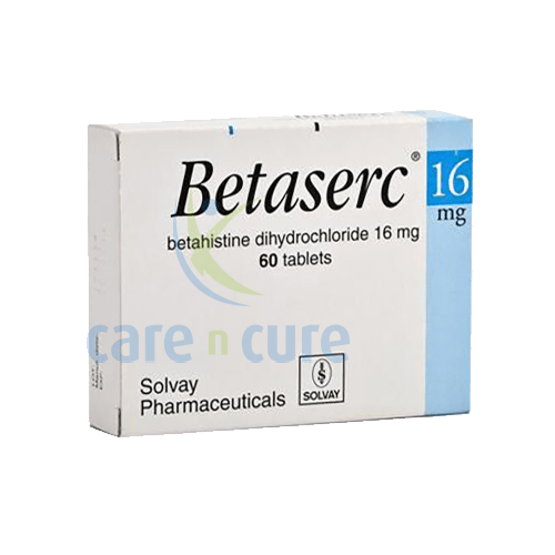 Betaserc 16mg Tablets 60S