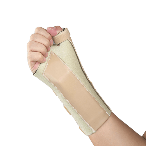 Super Ortho Neoprene Wrist Splint Left C4-002 (L-17~ 19 cm)