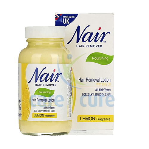Nair Hair Rem Lotion Lemon 120mla C Care N Cure Pharmacy Qatar