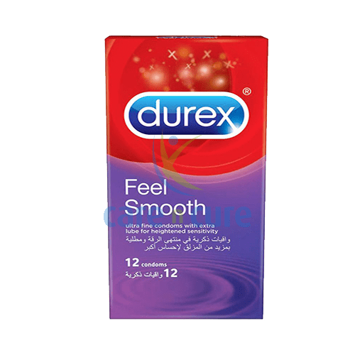 Durex Feel Smooth 12S 0700